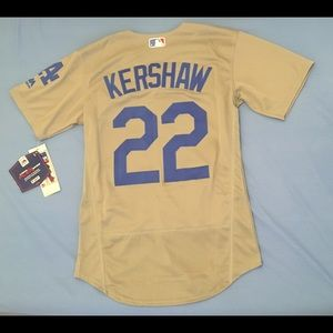 8473358b159 Shirts - Los Angeles Dodgers  22 Clayton Kershaw gray